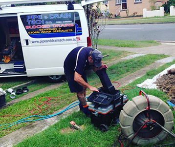 Blocked Drains Brisbane - Pipe and Drain Tech - Drainers